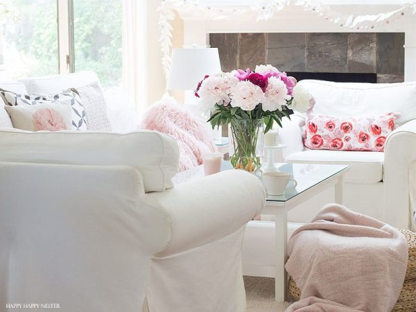 peonies season is here. They are the best to decorate your home with.