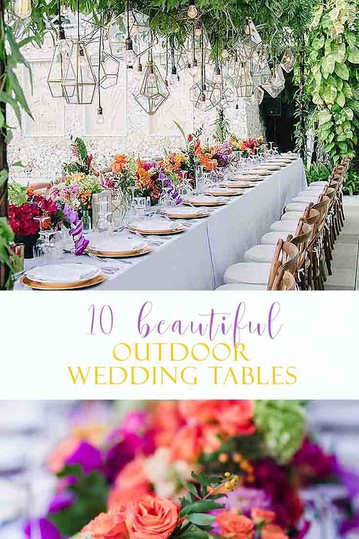 I Have Rounded Up 10 Beautiful Wedding Reception Table Ideas. Visit This  Post For A