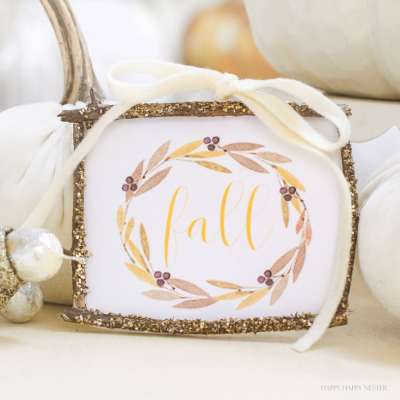 How to Make a Rustic Farmhouse Style Fall Craft