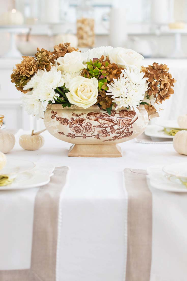 an inexpensive thanksgiving table diy