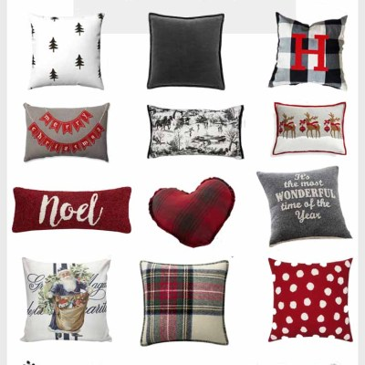 17 Cozy Holiday Pillow Ideas