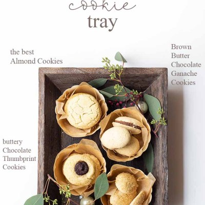 A Beautiful DIY Cookie Packaging Tray