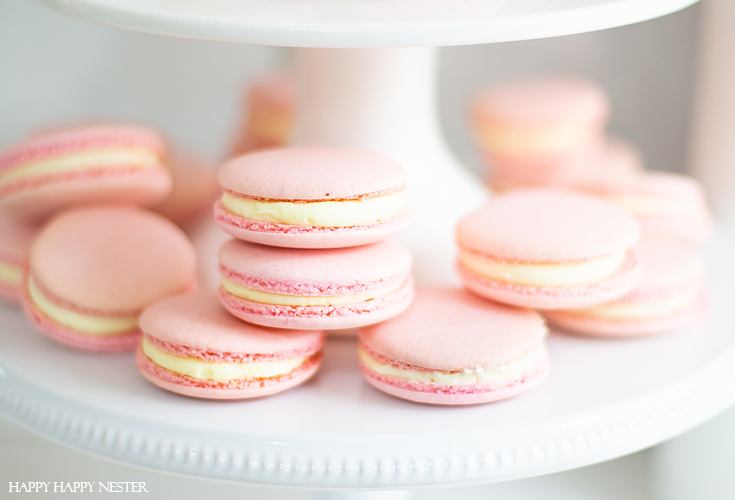 This Recipe Makes Perfect Macarons. I have been obsessed with finding The Best Basic French Macaron Recipe for what feels like an eternity! I'm happy to say that I mastered baking them. This yummy recipe combines the meringue cookie with a buttery French sabayon filling. #macaron #cookie #frenchmacaron #meringue #italianmeringue #baking #bestcookie #bake