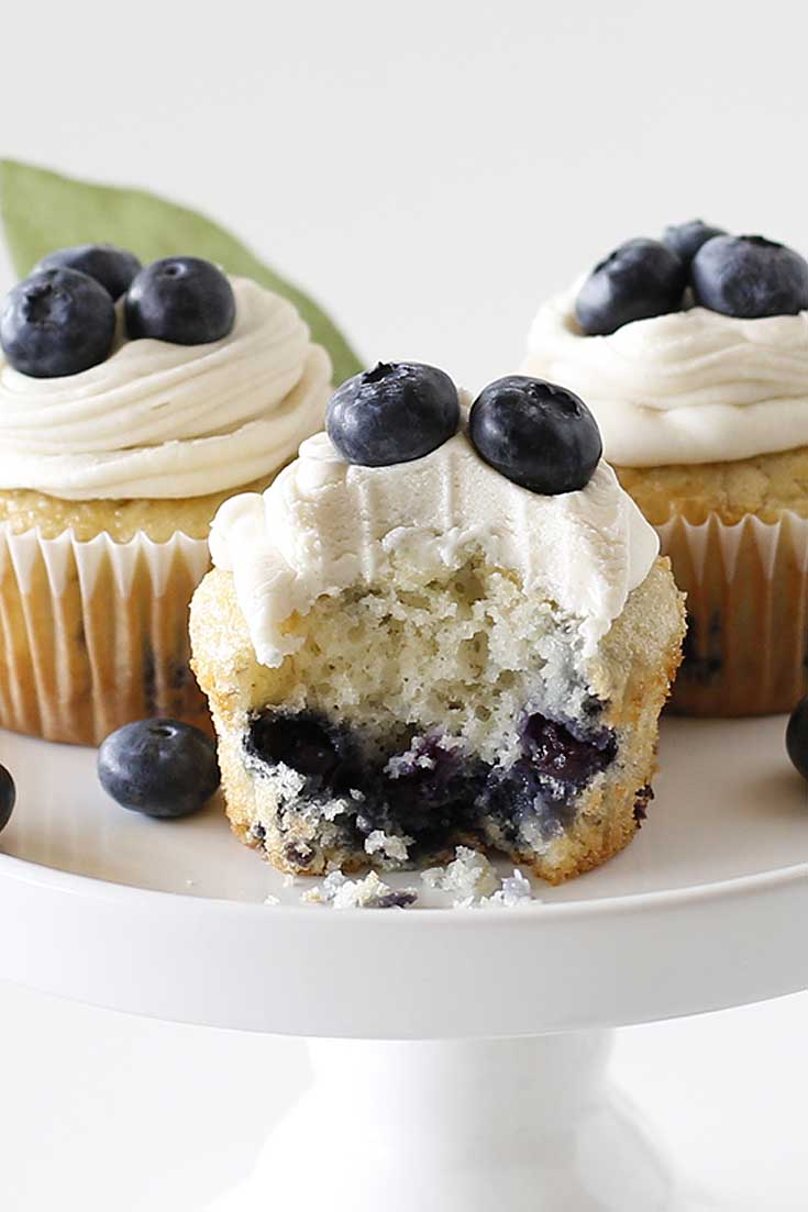 Blueberry Banana Cupcakes is the best recipe.