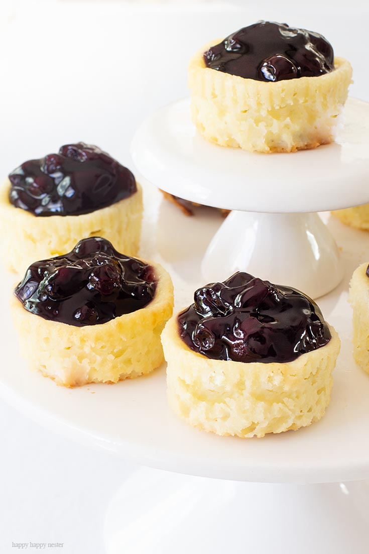 This Mini Cheesecake Recipe is easy to make, and it is unbelievably delicious. It's a perfect blend of fruit and cream cheese. Also, it is the best dessert for entertaining with friends and family. #dessert #cheesecake #recipe