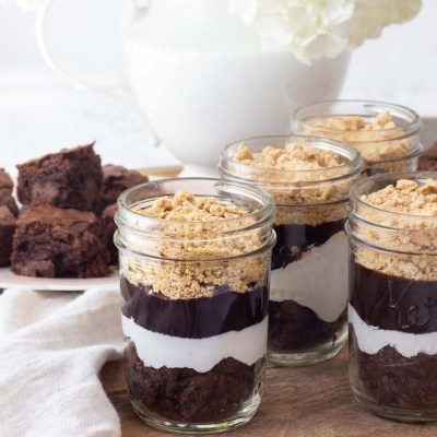 S'mores Recipe in a Jar