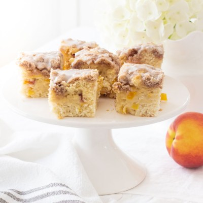 Best Ever Peach Buckle Recipe