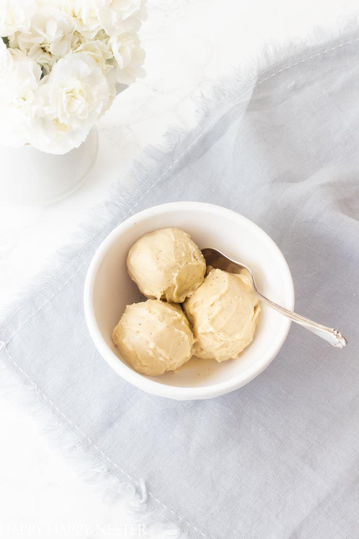 This Almond Custard Ice Cream Recipe is yummy! Almond Milk is its base and the eggs make it creamy. You will love this even if you aren't allergic to milk. #recipes #almondmilkicecream #icecream #icecreamrecipes #desserts