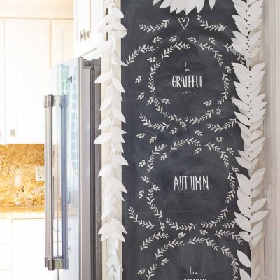 How to Create Easy Chalkboard Art