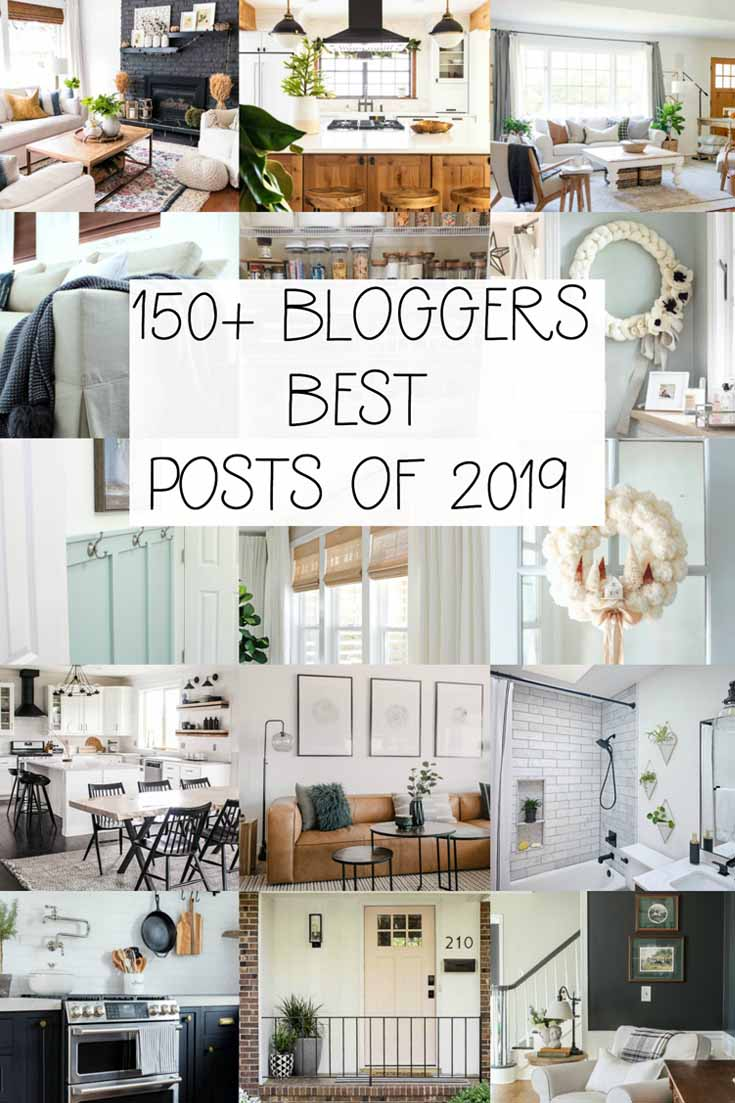 Enjoy this helpful roundup of my Top 10 Blog Posts of 2019. It's my reader's favorites, which include crafts and recipes. These are great recipes and crafts. #recipes #crafts #homedecor