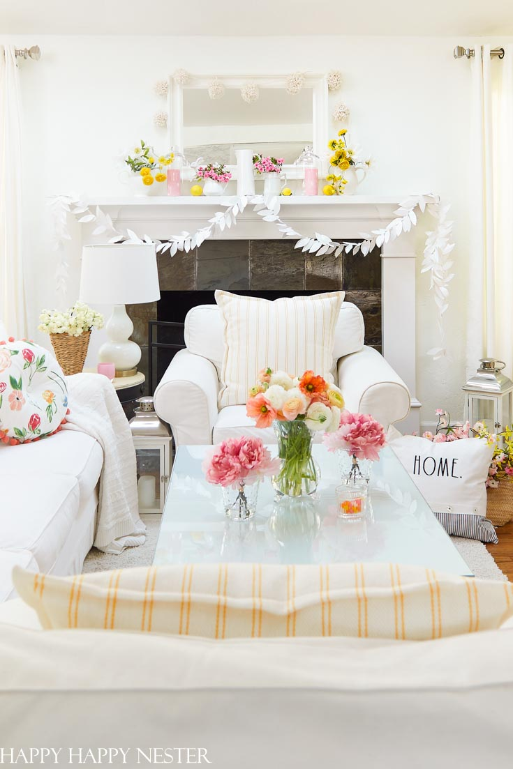 Spring Home Tour with Flowers from the San Francisco Flower Market