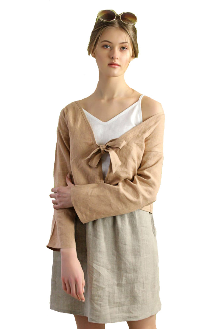 cute linen top from a wonderful boutique shop