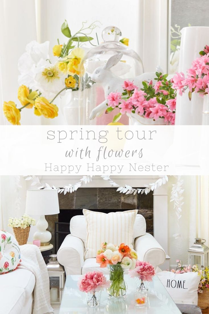 spring tour with flowers