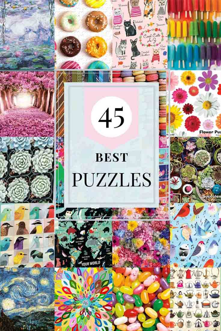 45 Best Puzzles for Adults pin
