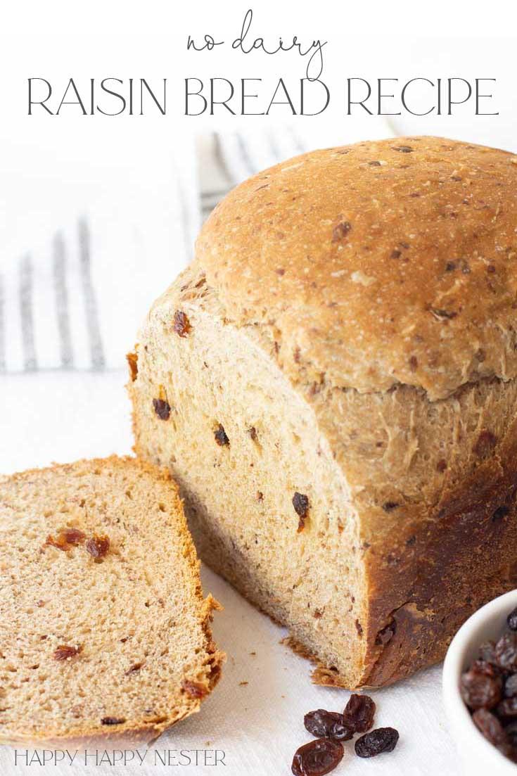 raisin bread recipe pin