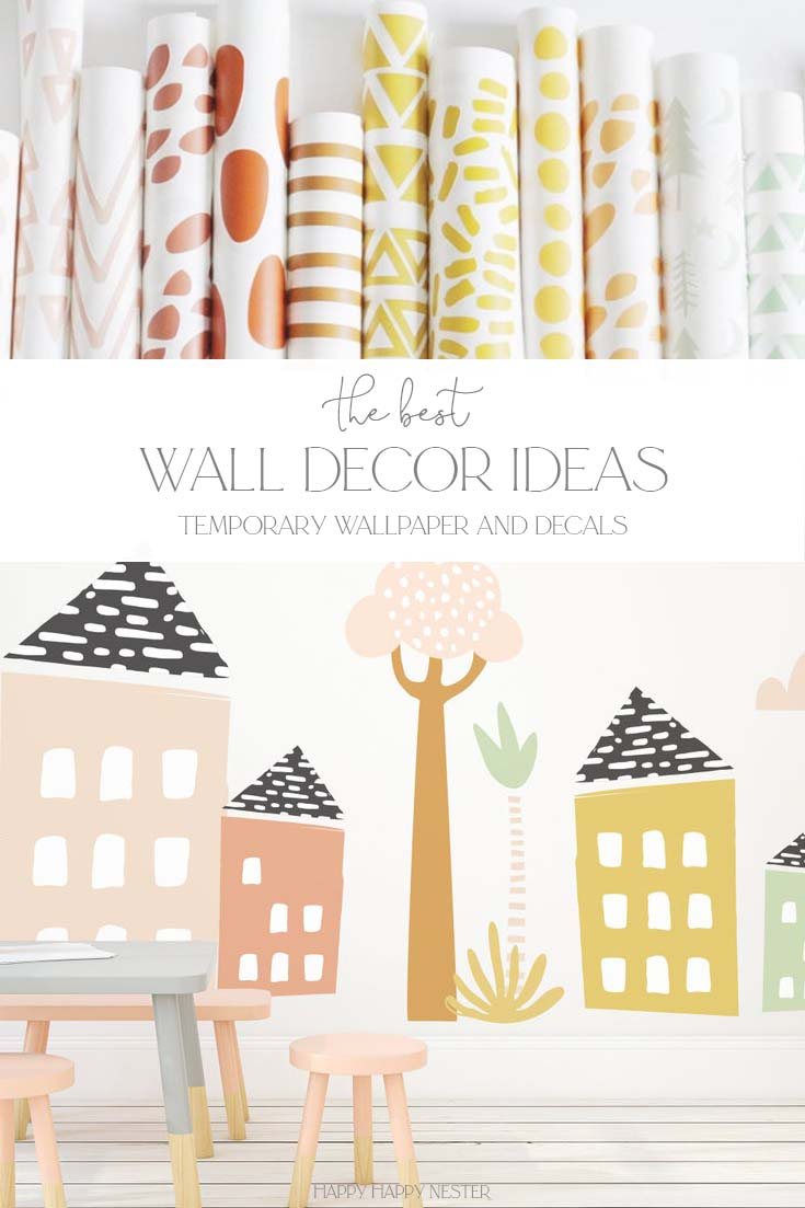 easy wall decor ideas pin