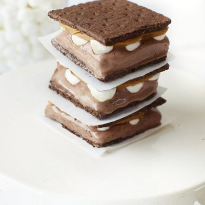 S'mores Ice Cream Sandwich Recipe