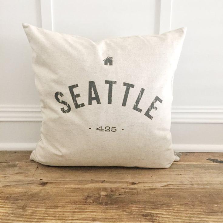 customized city pillows