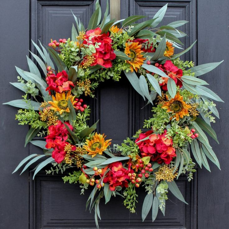 beautiful fall wreaths for your front door
