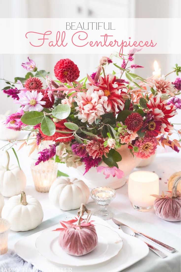 21 DIY fall centerpiece ideas pin