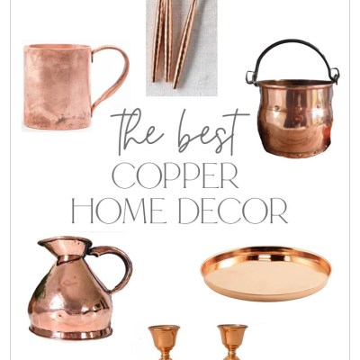 Antique Copper Decor and More