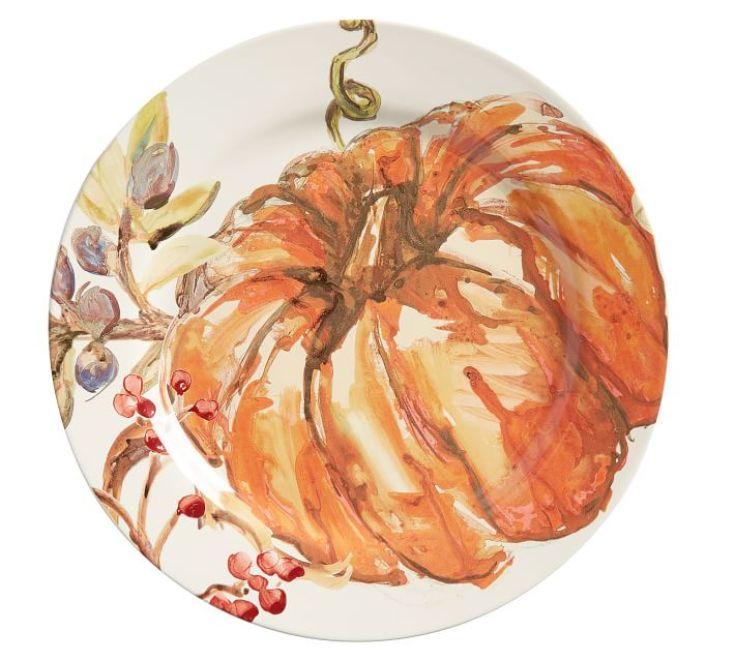 pumpkin plate