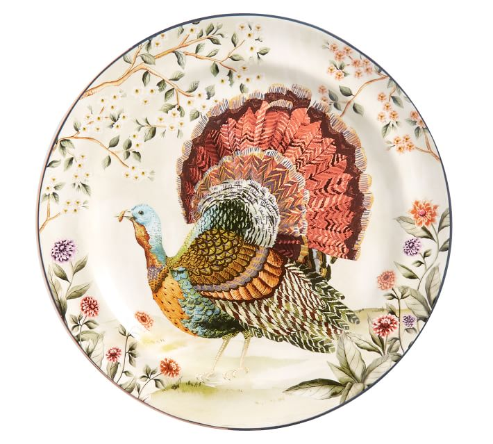 turkey plate for Thanksgiving dinner