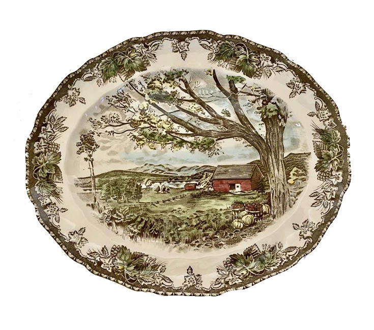 vintage dinner plate essentials