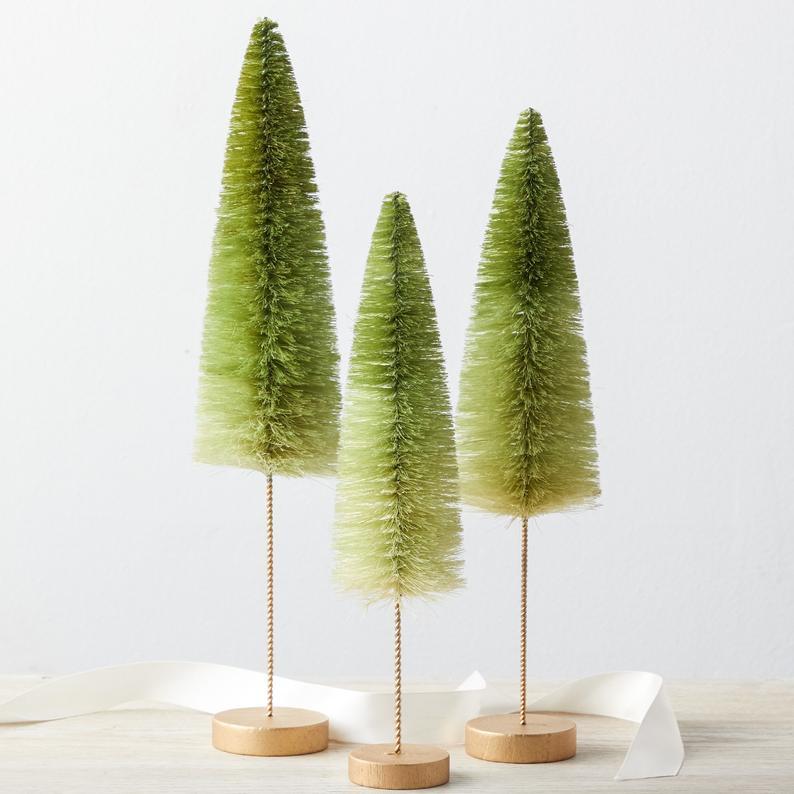 sisal christmas trees