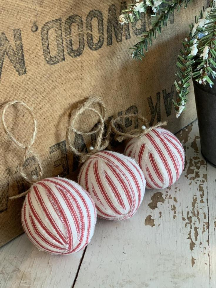 shopping for christmas decorations farmhouse style