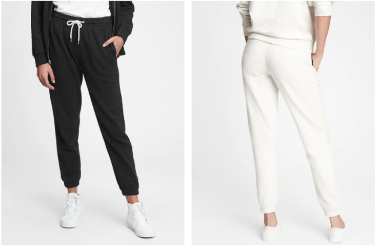 the gap has the best classic sweatpants