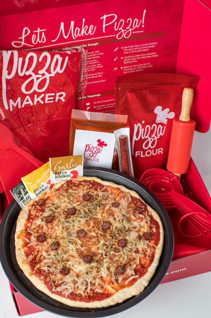 pizza making kit for adults and kids