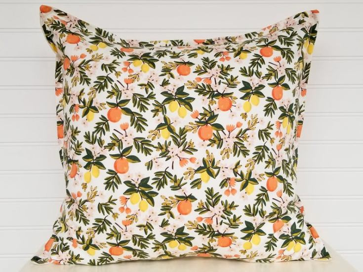citrus pillow by Rifle