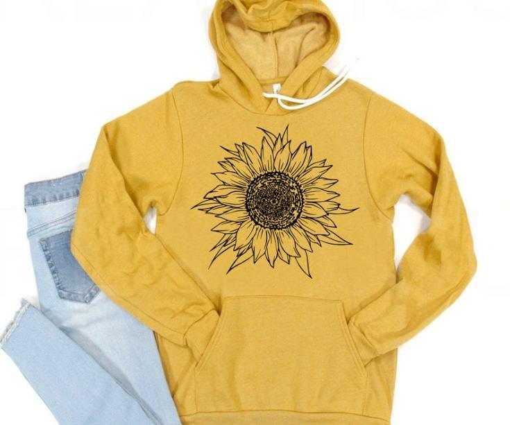 sunflower hoodie