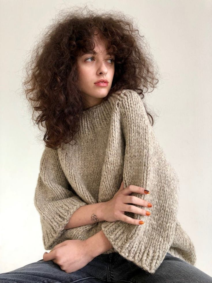 rustic sweater