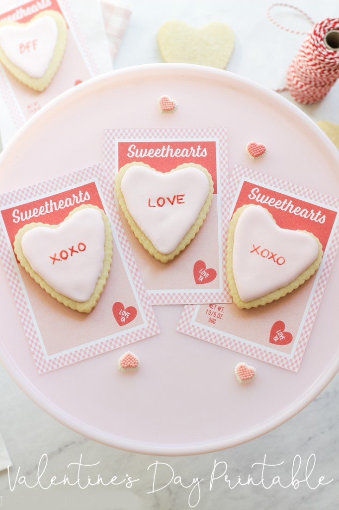 valentine's day card pin