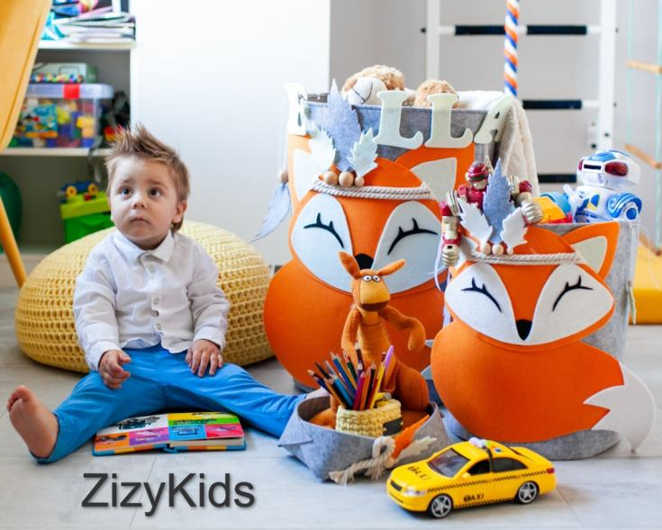 containers for a playroom