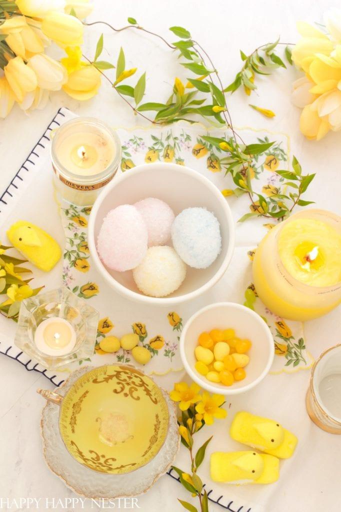 borax crystal easter eggs