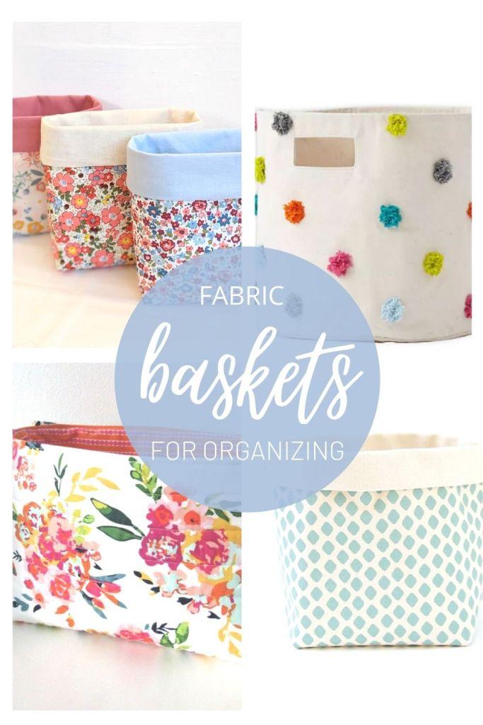 fabric baskets pin