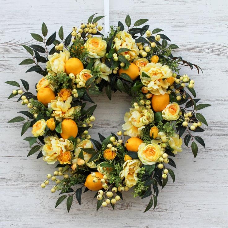 cute wreath for spring