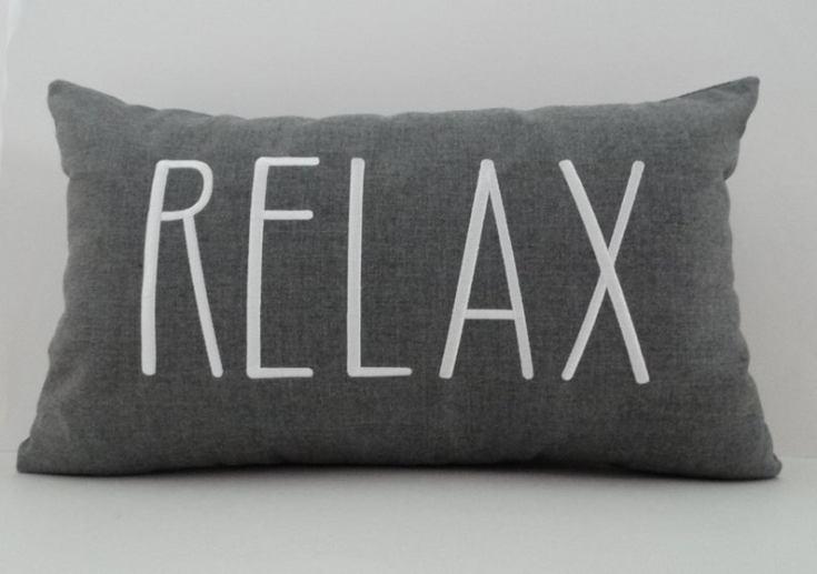 relax summer pillow