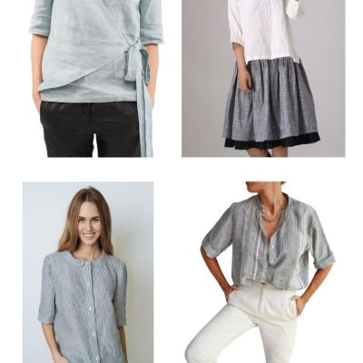 Natural Women's Linen Clothing
