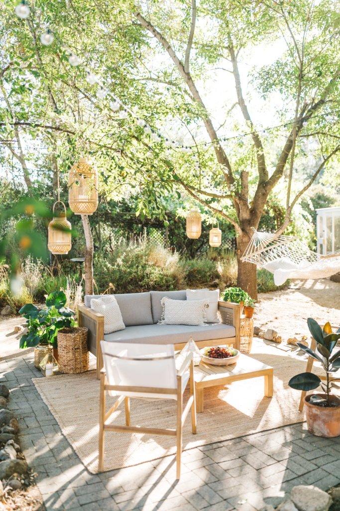 boho backyard patio ideas