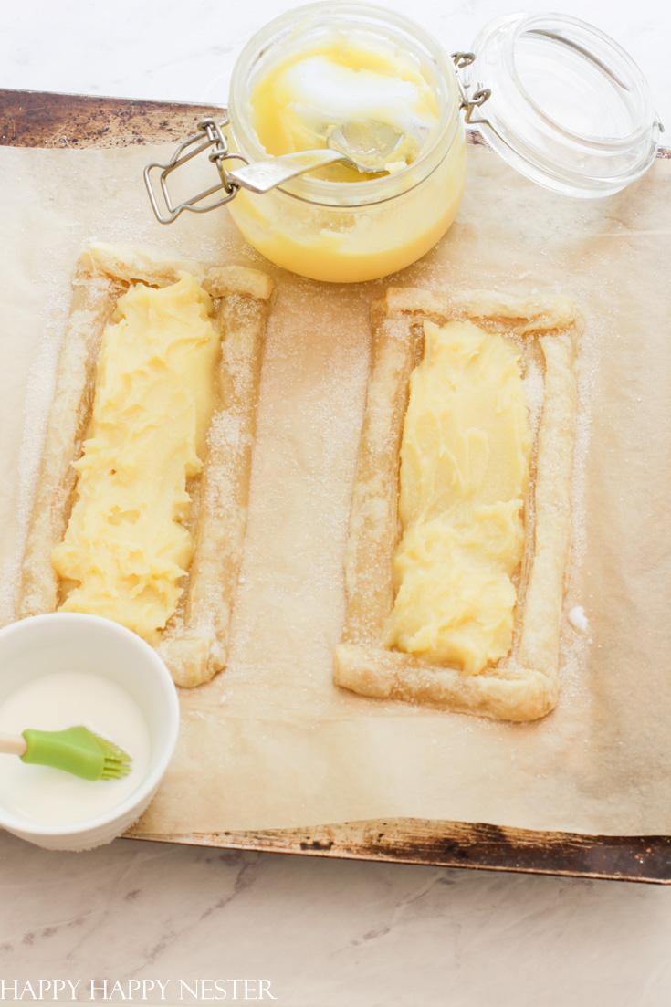 lemon tart puff pastry recipe