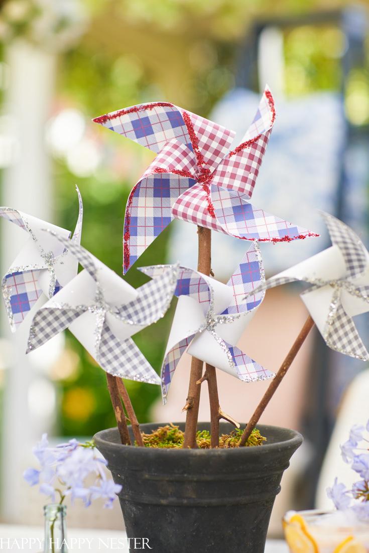 paper pinwheel crafts