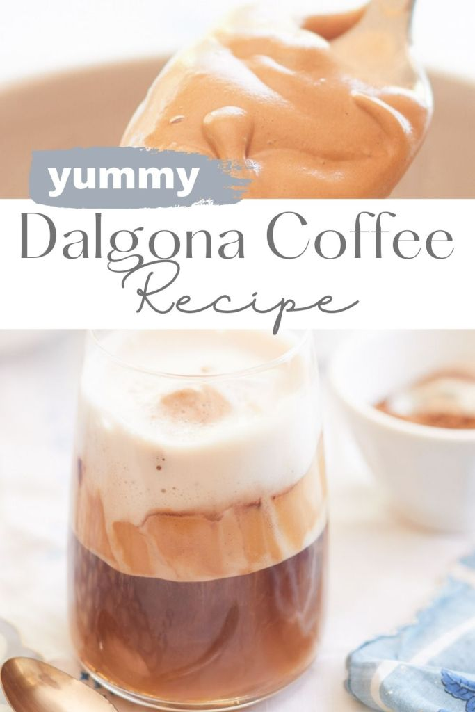 This Dalgona Coffee Recipe is super easy to make. In this post, learn how to make this popular TikTok coffee. It makes such a delicious coffee.