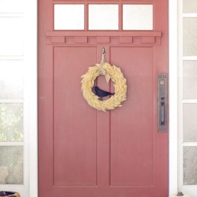 DIY Inexpensive Fall Wreath