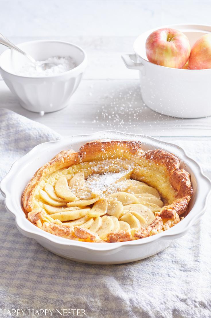 easy apple dutch baby recipe
