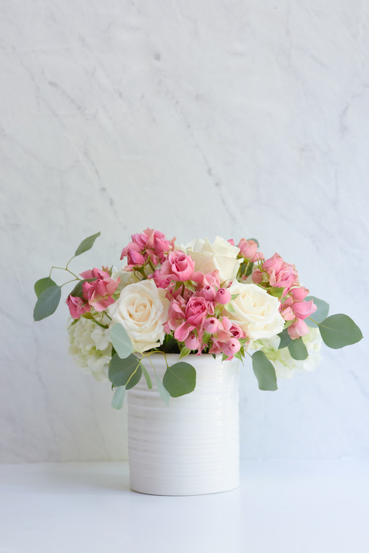 seasonal floral centerpieces