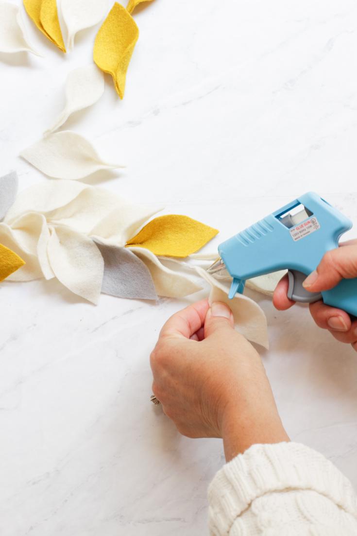 step by step garland tutorial